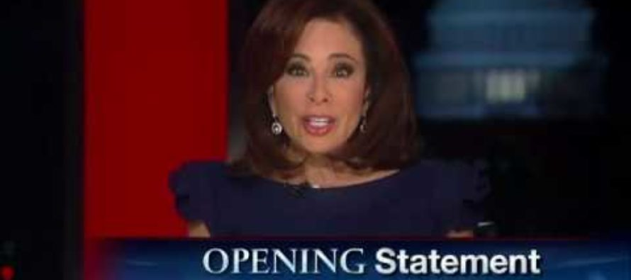 Judge Pirro Educates IGNORANT Liberals – 'Like It Or Not, LAWS ARE GETTING ENFORCED!' [VIDEO]