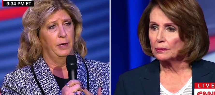 WATCH: Woman Whose Son Was Killed By an Illegal Confronts Nancy Pelosi