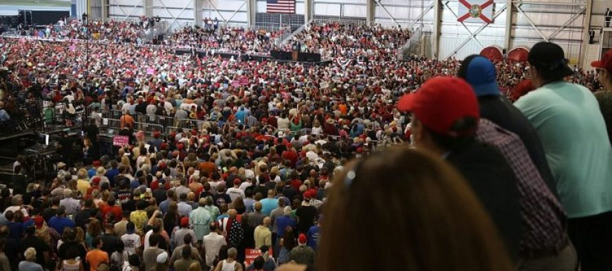 Watch how Melania begins a Trump rally; puts Michelle Obama to shame! [VIDEO]