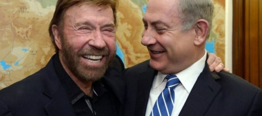 Prime Minister Netanyahu Had Only ONE Thing To Say After Meeting With Chuck Norris – VIDEO