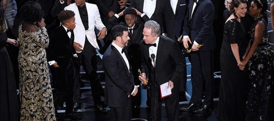 The Ratings Are In For The Oscars and It's a Disaster