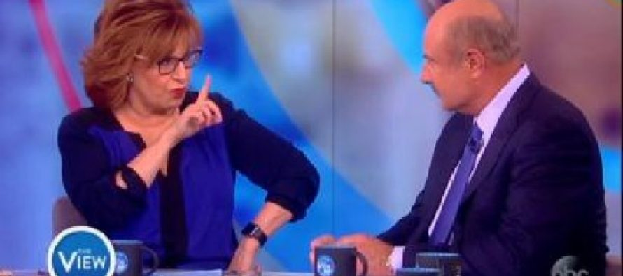 Joy Behar urges Dr Phil to diagnose Trump with mental illness, he pulls THIS from his pocket… [VIDEO]