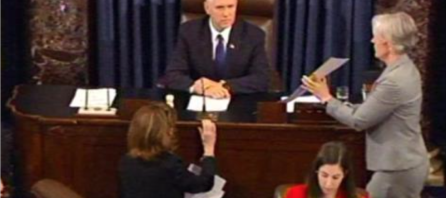 WATCH: Here's What Happened IMMEDIATELY After Betsy DeVos Was Confirmed