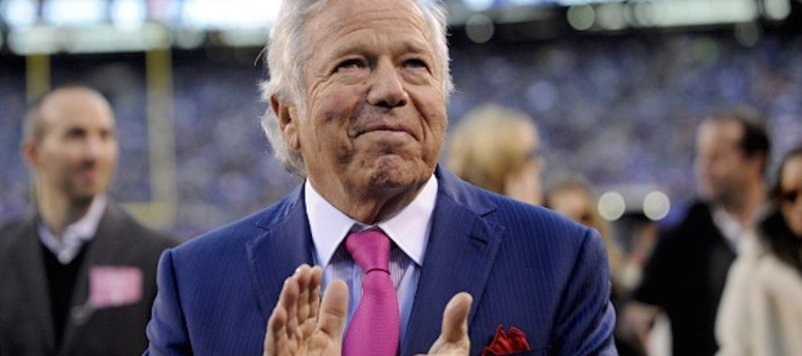Patriots Owner Reveals Incredible Thing Trump Did For Him After Wife Died