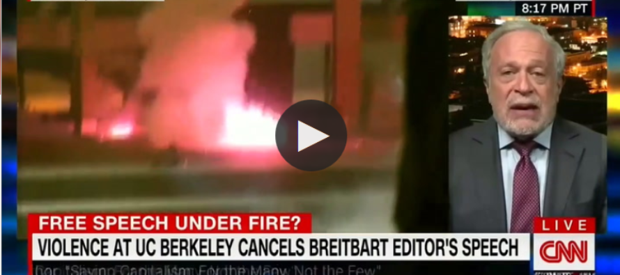 Oh Hell No! CNN Commentator Tells Why Violent Berkeley RIOT Should Be Blamed On Conservatives [VIDEO]