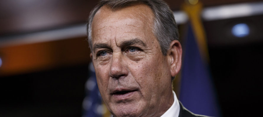 THERE WILL BE BLOOD!: John Boehner says Republicans won't repeal and replace Obamacare