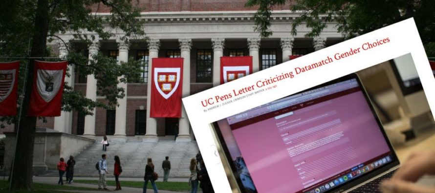 Harvard Student Creates 'Dating App' With 2 Gender Options – Being FORCED To Apologize For It