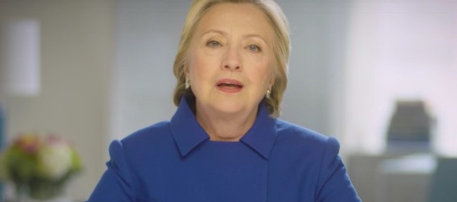 Keep fighting, I will be with you every step of the way': Hillary Is Back, And She May Be Running For 2020…[VIDEO]
