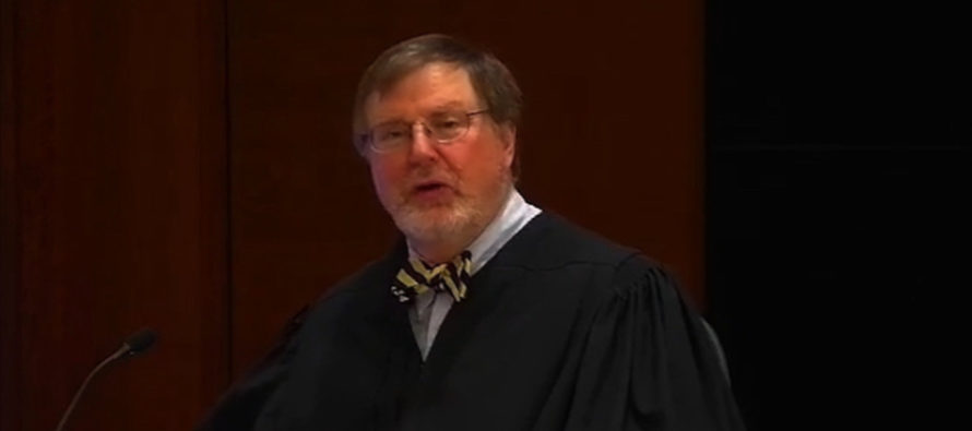 Radical Judge Who Ruled Against Trump Declared 'Black Lives Matter' From Bench