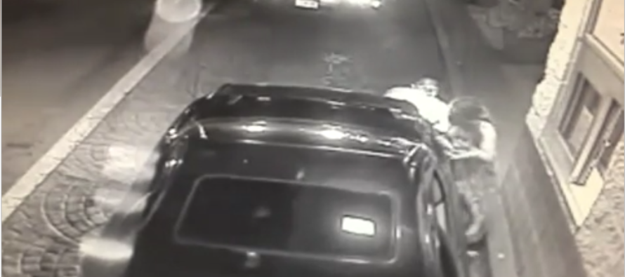 Beaten Mother Desperately Tries To Save Her Child With The Help Of McDonald's Drive-Thru Employee VIDEO