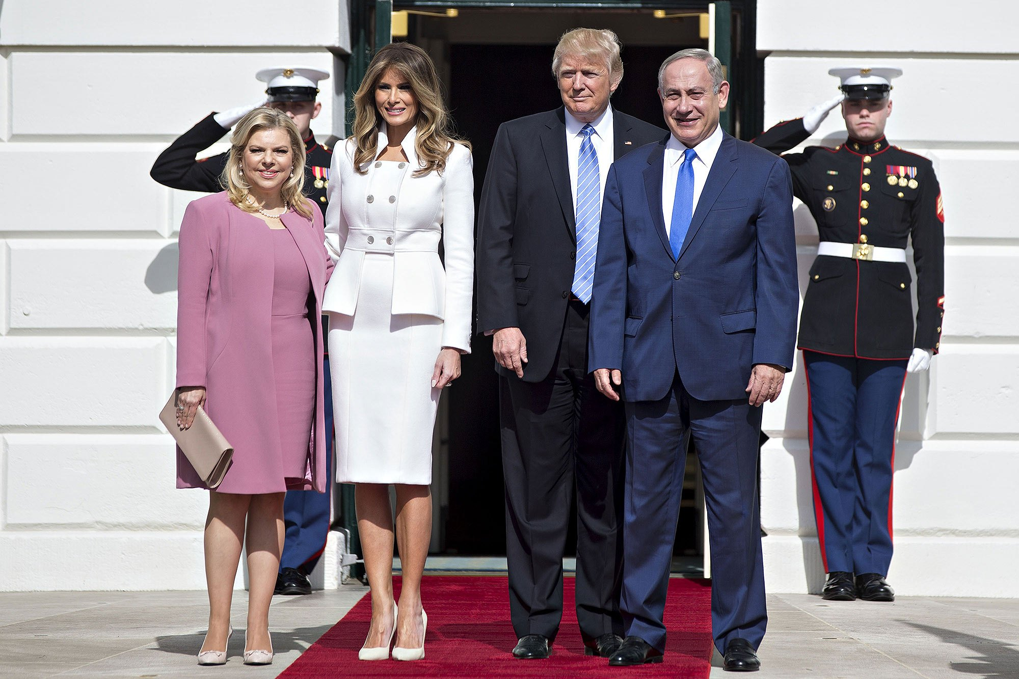 President Trump Meets With Israeli Prime Minister Benjamin Netanyahu At The White House