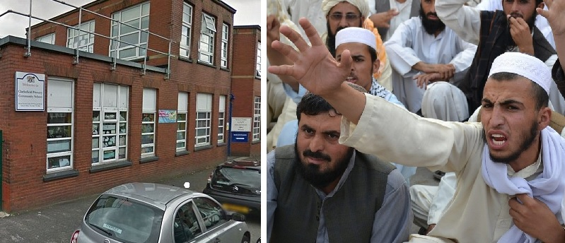 muslim school threats