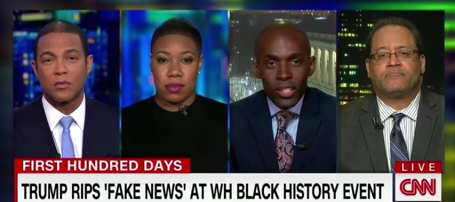 """Donald Trump doesn't care about black people"" said a CNN commentator [VIDEO]"