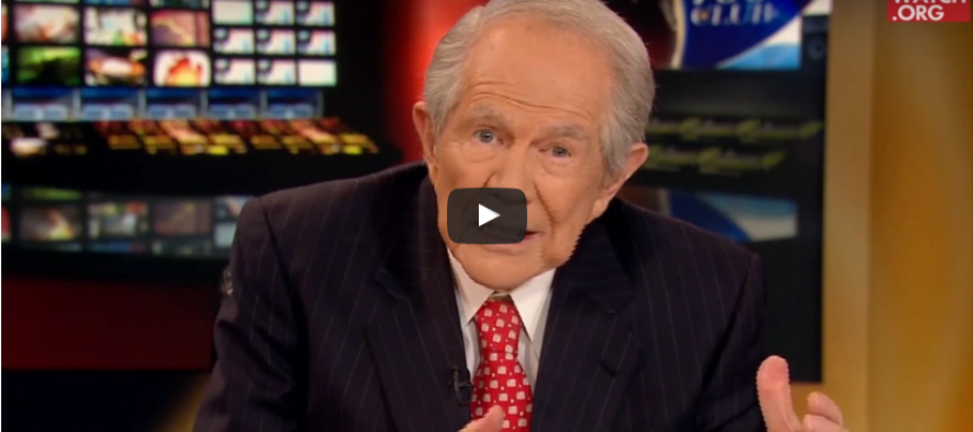 Pat Robertson: 'God's Plan Is Being Put Into Place For America Now, Liberals Are Undermining It' [VIDEO]