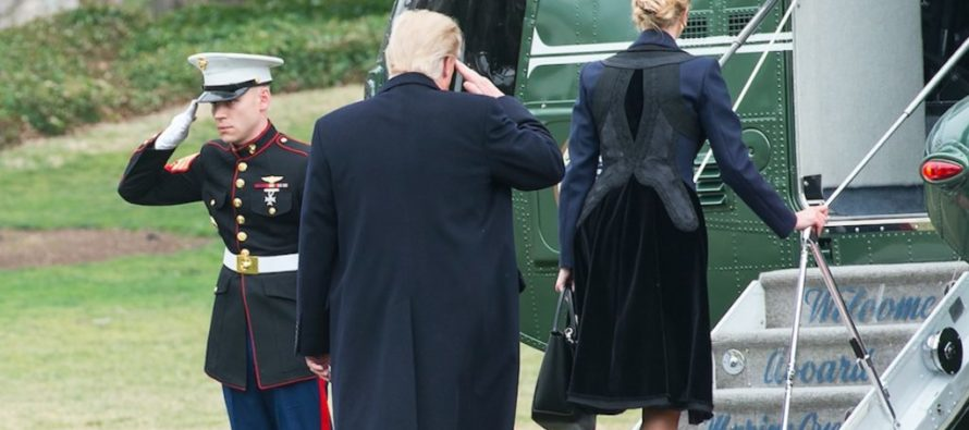 Trump Abruptly Left The White House To Board Marine One, All Due To ONE Navy Seal