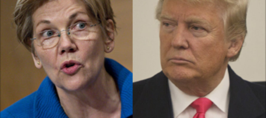 'Pocahontas is now the face of your party': President Trump 'attacks Elizabeth Warren's ancestry again and says her only claim to a Native heritage are her high cheekbones'