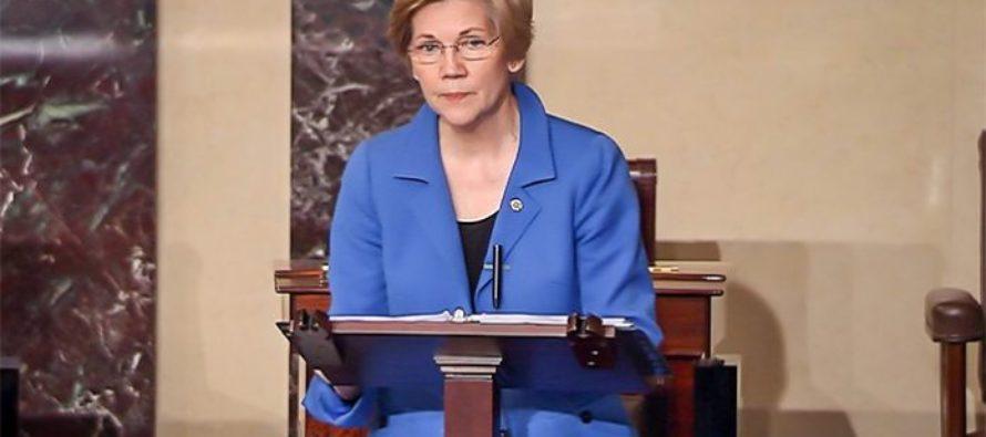BOOM! Elizabeth Warren SHUT DOWN On Senate Floor LIVE On TV – She Is BARRED! [VIDEO]