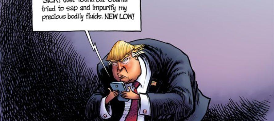 The Conspiratweeter (Cartoon)