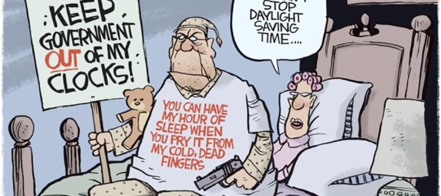 Daylight Saving Time (Cartoon)