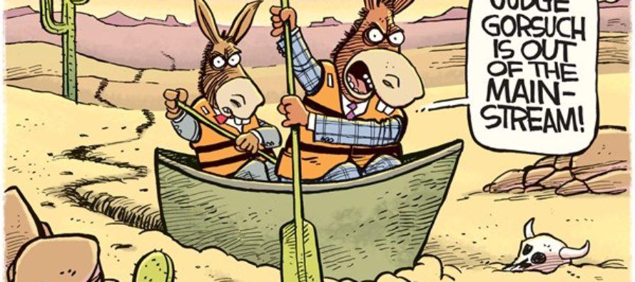 Gorsuch Mainstream (Cartoon)