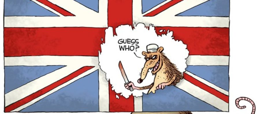 London Terror (Cartoon)