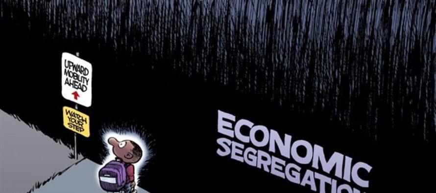 Economic Segregation (Cartoon)