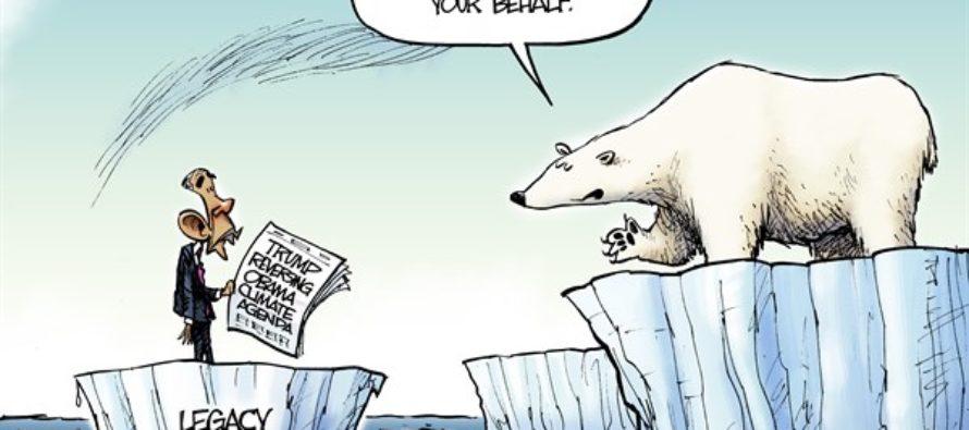 Melting Ice (Cartoon)