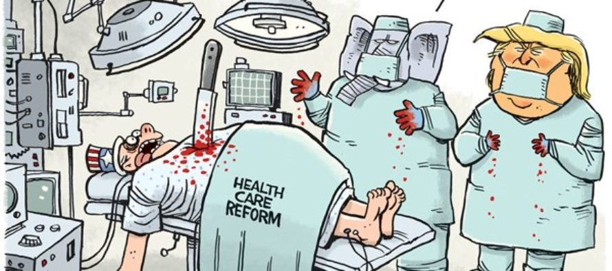 GOP Health Care (Cartoon)