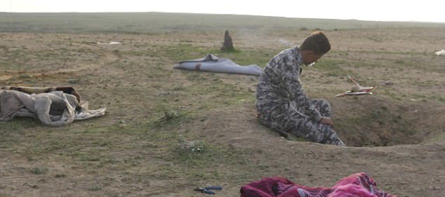Little Girl HEARTLESSLY Murdered By ISIS Brings Hardened Soldier To TEARS After He Discovers…[PICTURES] [VIDEO]