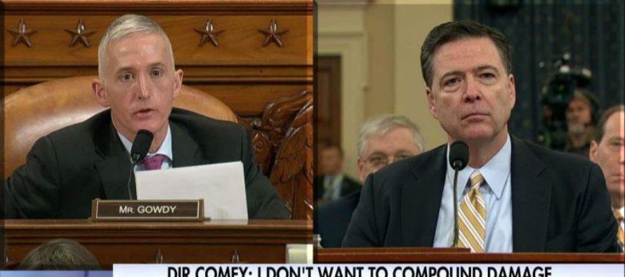 Trey Gowdy Just LEVELED FBI Director On Intelligence Leaks Like A BOSS! [WATCH]