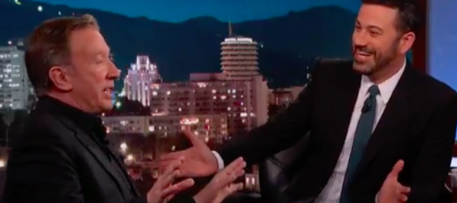 YES! Tim Allen Goes On Jimmy Kimmel… Completely LEVELS Anti-Trumpers Like A BOSS! [WATCH]