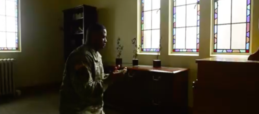 "Army's newest Muslim Chaplin spends free time ""advocating for Islam"" [VIDEO]"