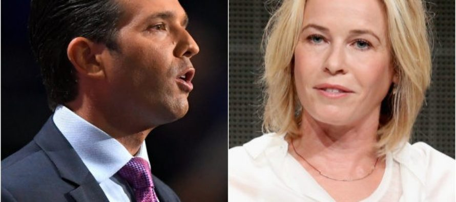 Chelsea Handler Tries to Mock the Trump Family… Donald Trump Jr. DESTROYS HER!