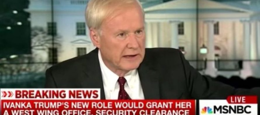 Chris Matthews Crosses the Line – Makes Disgusting Comment About Trump Kids [VIDEO]