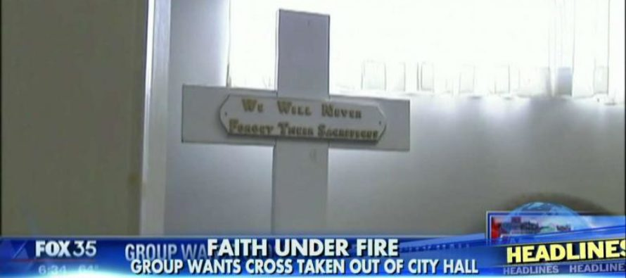 Mayor HITS BACK at group DEMANDING Removal of Historic Cross [VIDEO]