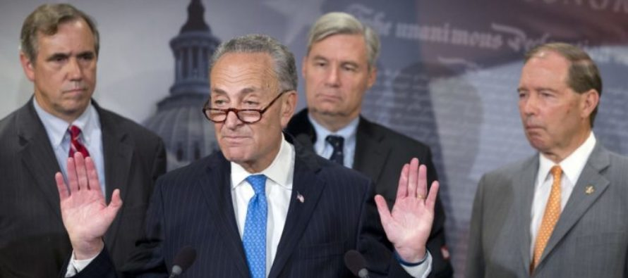 Senate Dems Make UNBELIEVABLE Threat to Trump