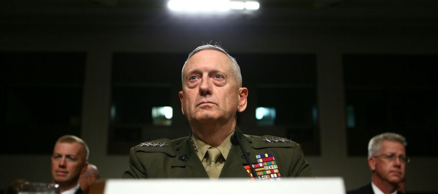 After Two Months, Secretary Mattis Continues The Fight In The Pentagon…As The ONLY Appointee!