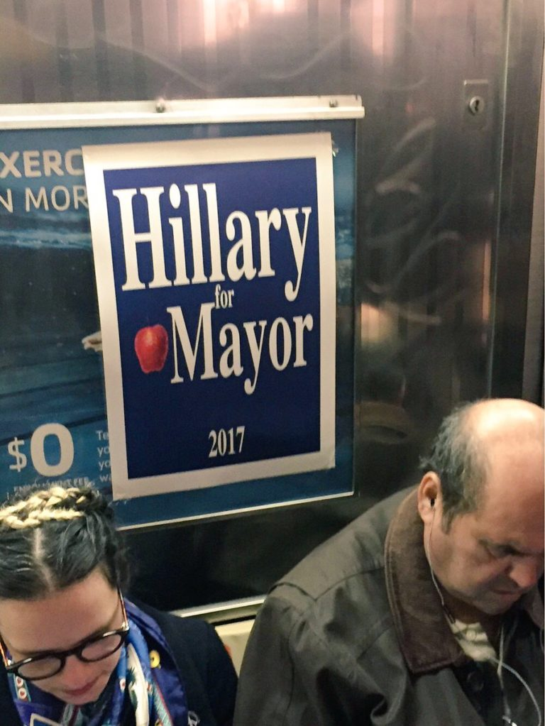 Hillary-for-Mayor-subway-768x1023