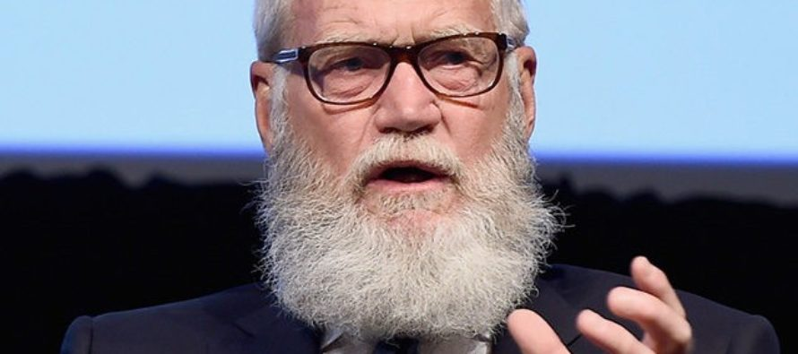 David Letterman Says Trump is 'Insulting to America, Insulting to Human Rights'