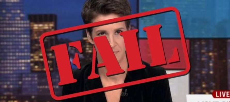 Rachel Maddow Just Got MORE Bad News After Tax Return Fiasco