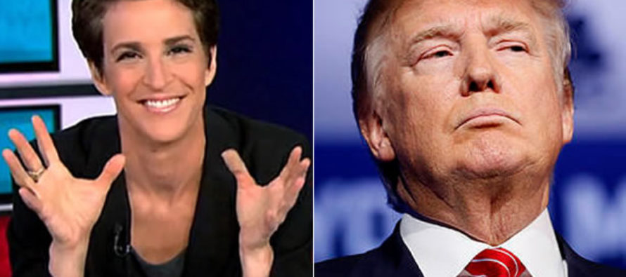 Rachel Maddow Makes DESPICABLE Statement About Trump