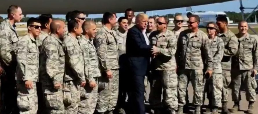 The President Just Got An AMAZING Gift From The Military – He Put It To Use IMMEDIATELY! [PICTURES] [VIDEO]