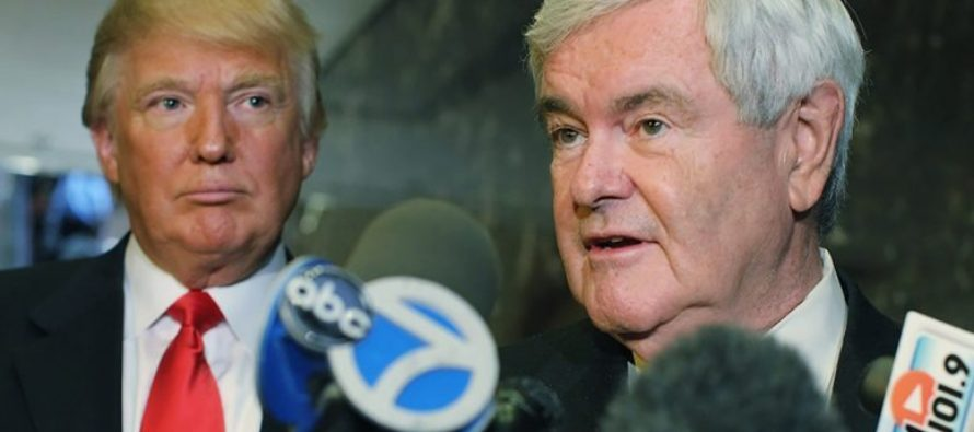 Gingrich Warns President Trump Of Massive Plot Of Sabotage – Trump Takes It SERIOUSLY!