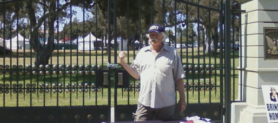 Veteran Faces Jail Time For Posting American Flag on Veterans Affairs Center Fence on Memorial Day