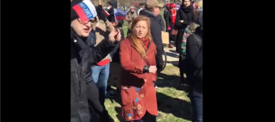 VIDEO: Senior Citizen Destroys Anti-Trump Protesters