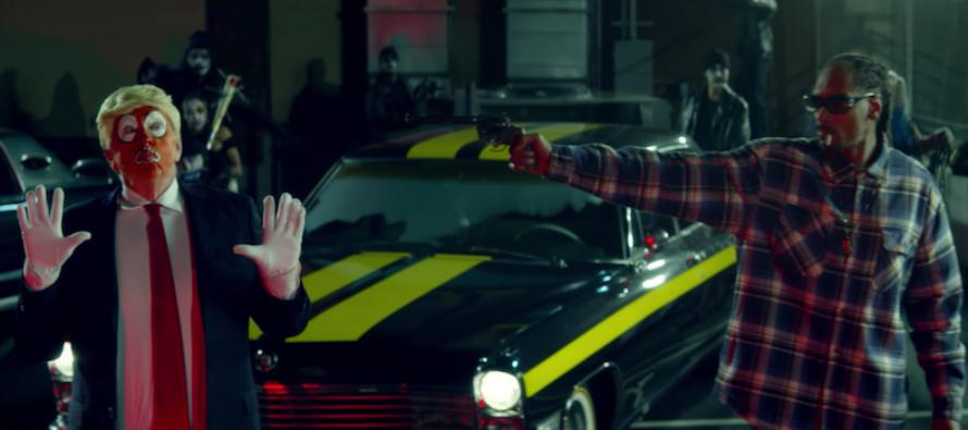 Snoop Dogg 'Assassinates Trump' in New Rap Video… MEDIA SILENT!