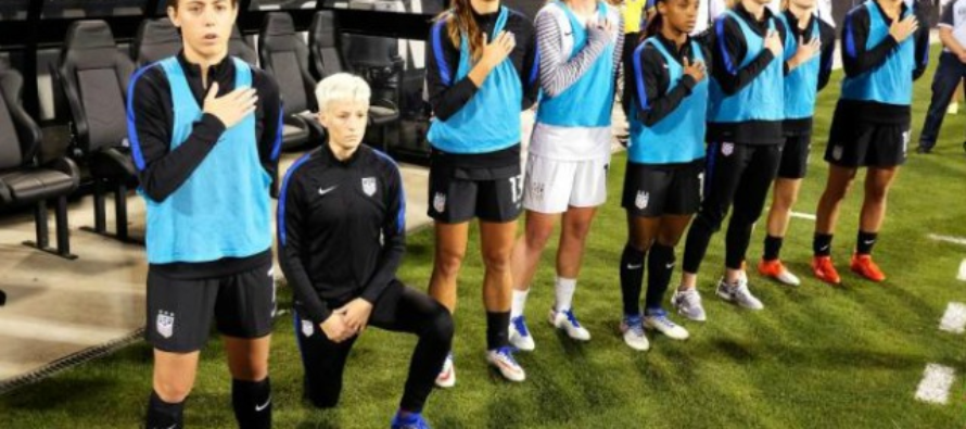 U.S. Soccer CRUSHES the National Anthem Protest Movement by Requiring Players Stand 'Respectfully'