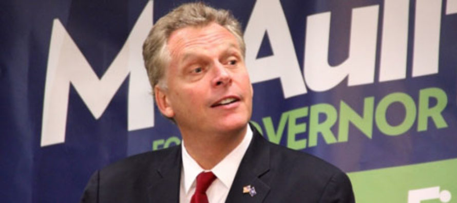 Terry McAuliffe Vetoes Bill That Would Allow Victims of Domestic Violence to Defend Themselves