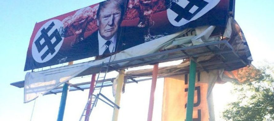 A Radical Leftist Artist Shows How RIDICULOUS She Is When She Reveals TRUMP Billboard…