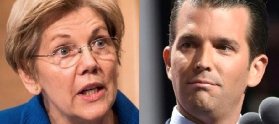 Elizabeth Warren LIES Right To The American People…So Don Jr. THROWS It Right In Her Face!